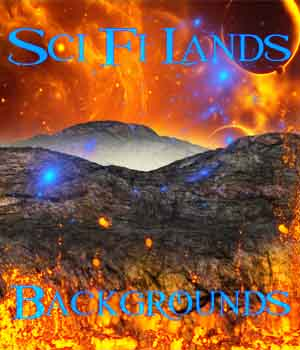 Sci Fi Lands Backgrounds 2D Graphics ellearden