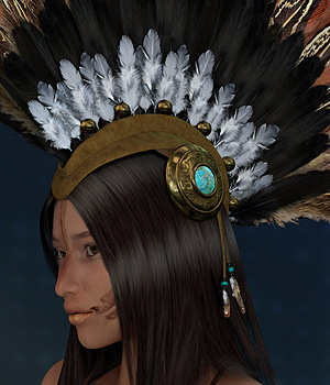 Finishing Touches: Headpieces Volume 7 3D Figure Essentials ryverthorn