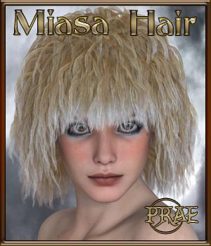 Prae-Miasa Hair 3D Figure Essentials prae