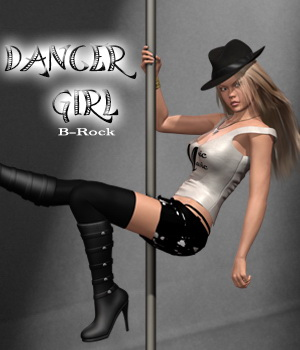Dancer Girl 3D Figure Essentials B-Rock