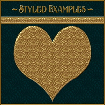 Golden Mesh Layer Styles image 1