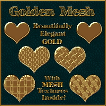 Golden Mesh Layer Styles image 2