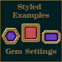 Golden Mesh Layer Styles image 3