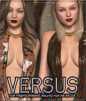 VERSUS - FASHIONWAVE Mojito for V4 A4 G4 3D Figure Essentials Anagord