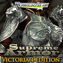 Supreme Armor for V4/A4/G4/Elite/PowerGirl - Extended License 3D Models 3D Figure Assets Extended Licenses powerage