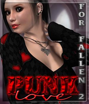 PUNK LOVE for Fallen2 3D Figure Assets Divakatt