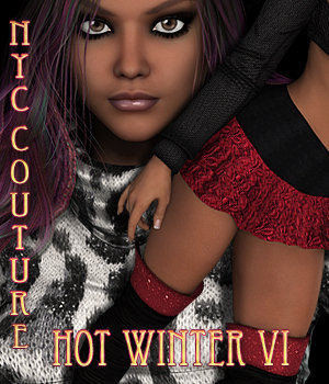 NYC Couture: Hot Winter VI 3D Figure Essentials 3DSublimeProductions