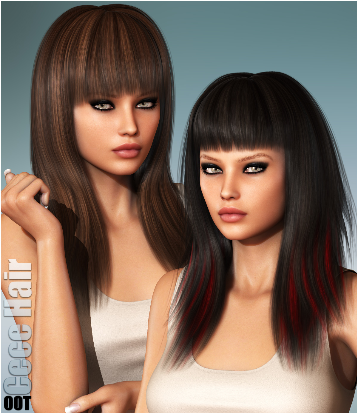 Cece Hair and OOT Hairblending by outoftouch