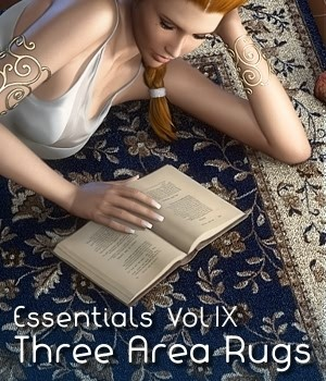 Essentials Vol IX Area Rugs 3D Figure Essentials 3D Models fabiana