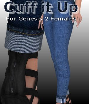 Cuff It Up for Genesis 2 Females 3D Figure Assets WildDesigns