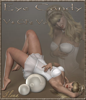 Eye Candy - V4-GF2-V6 3D Figure Assets ilona