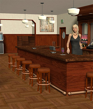 The Corner Bar 3D Models Richabri