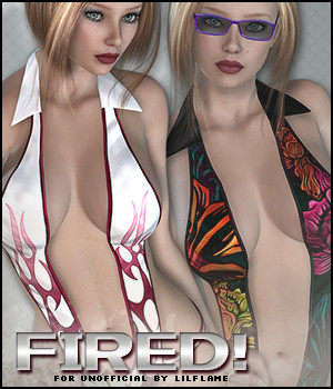 Fired! for Unofficial 3D Figure Essentials Sveva