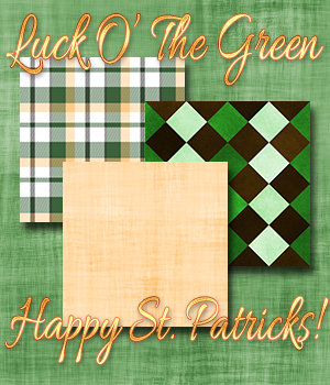 Luck O' The Green 2D Graphics Merchant Resources 3DSublimeProductions