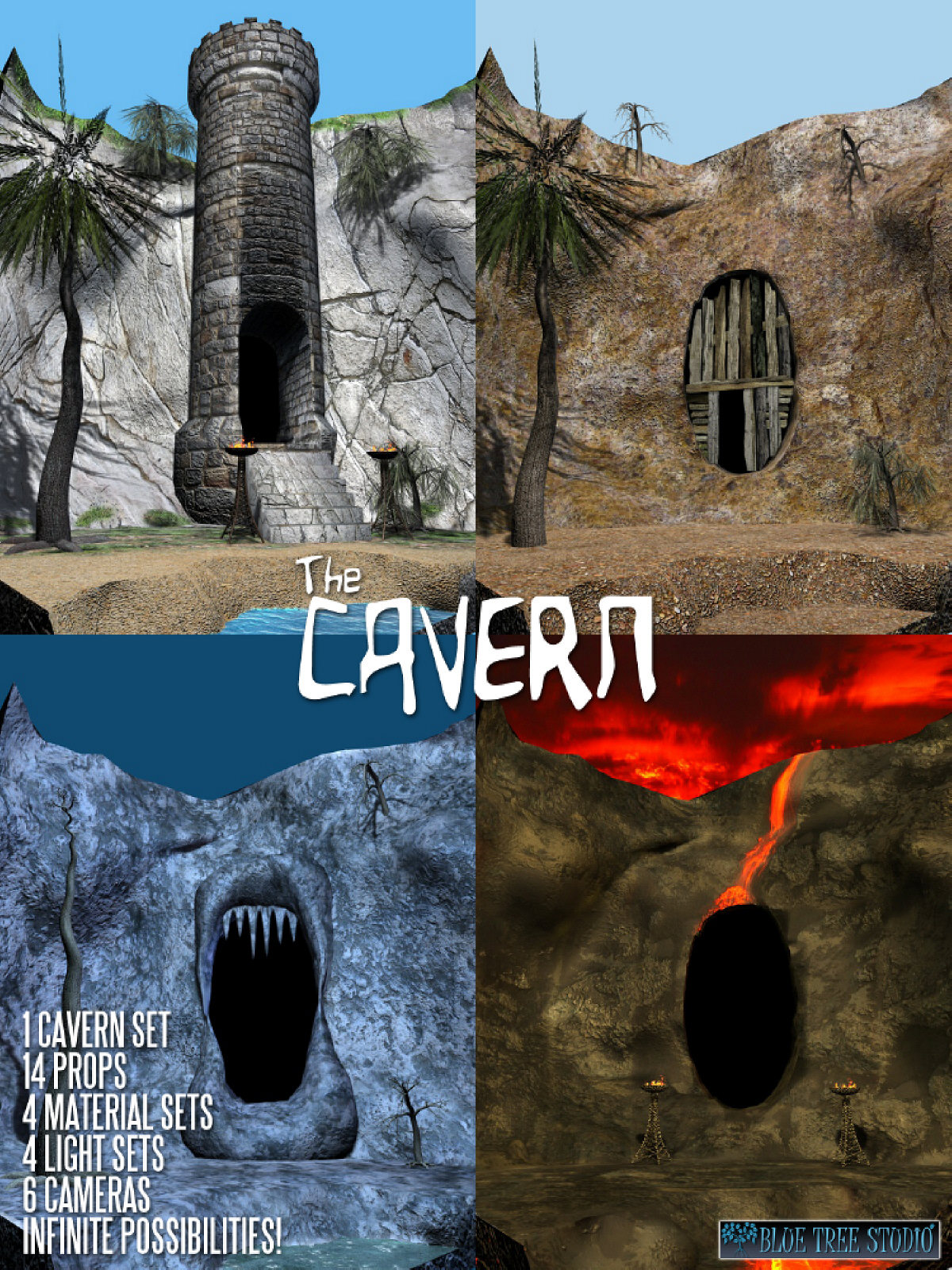 The Cavern by BlueTreeStudio