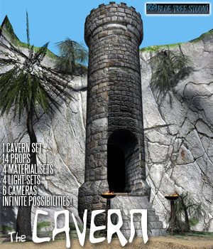 The Cavern 3D Models BlueTreeStudio