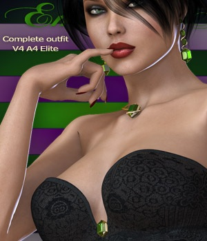 Emerald Nights V4-A4-Elite 3D Figure Essentials nirvy
