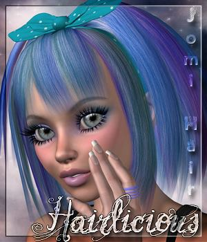 Hairlicious Jomi 3D Figure Essentials alexaana