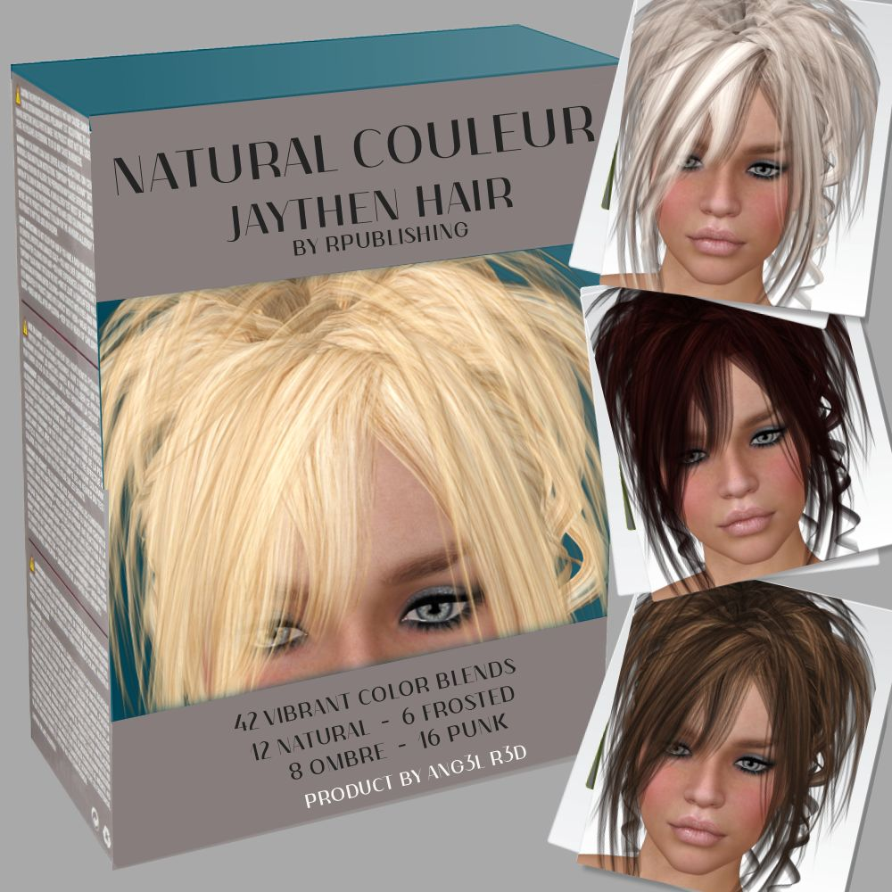 Natural Couleur for Jaythen Hair by ANG3L_R3D