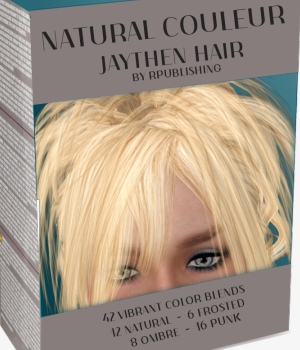 Natural Couleur for Jaythen Hair 3D Figure Essentials ANG3L_R3D