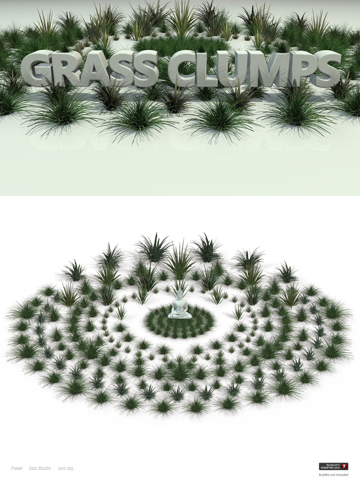Grass Clumps
