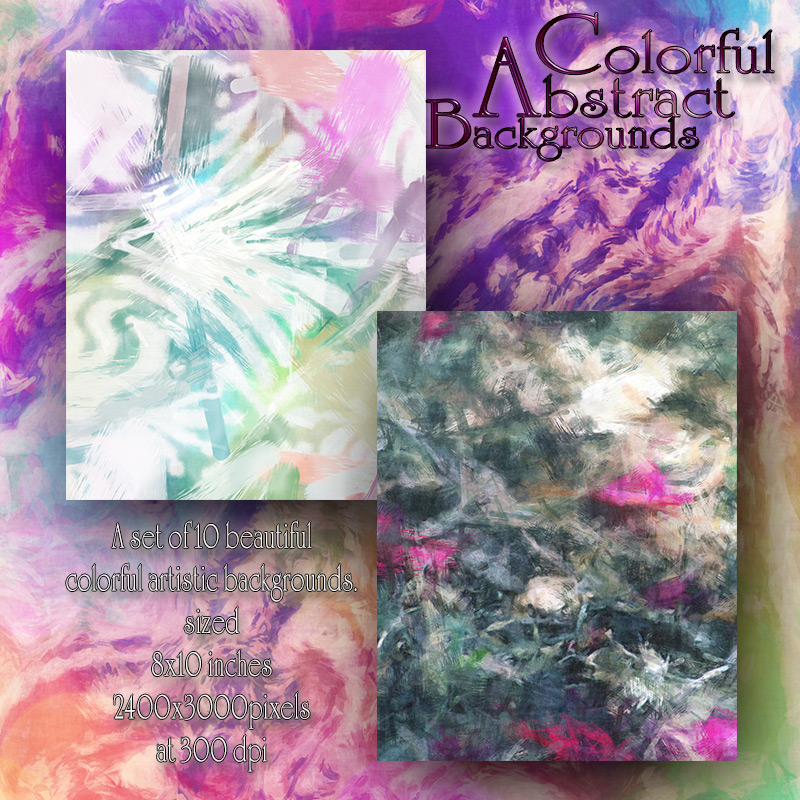 Colorful Abstract Backgrounds by antje