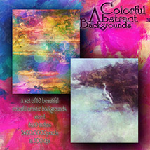 Colorful Abstract Backgrounds image 1