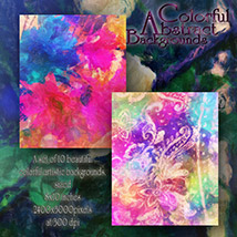 Colorful Abstract Backgrounds image 2