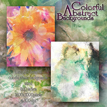 Colorful Abstract Backgrounds image 3