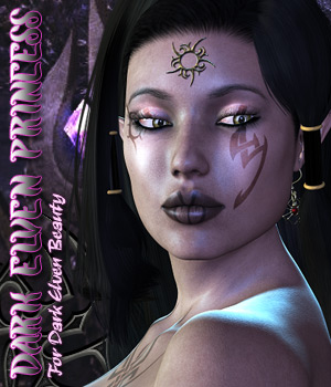 Dark Elven Princess by Darkworld