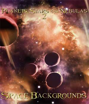 Planets, Stars and Nebulas 2 - Space Backgrounds 2D ellearden
