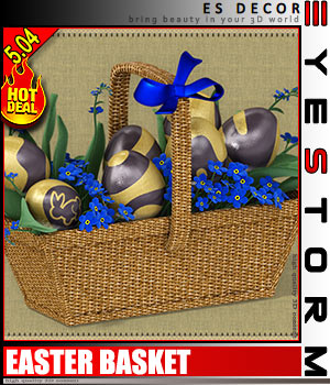 ES Easter Basket 3D Models EyeStorm