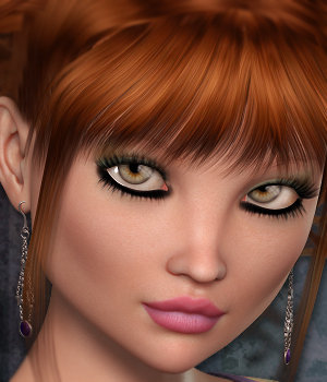 Gracie for Genesis 2 & Dolly 3D Figure Assets 3DSublimeProductions