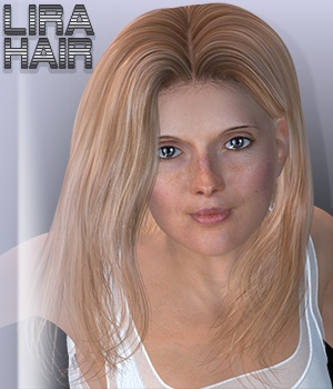 Lira Hair 3D Figure Assets 3Dream