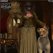 OOT Styles for Swamp Witch for Genesis 2 Female(s) image 1