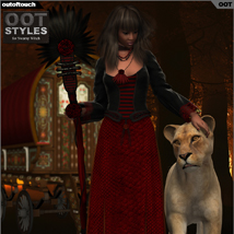 OOT Styles for Swamp Witch for Genesis 2 Female(s) image 2