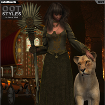 OOT Styles for Swamp Witch for Genesis 2 Female(s) image 4
