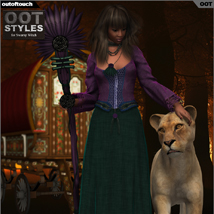 OOT Styles for Swamp Witch for Genesis 2 Female(s) image 5