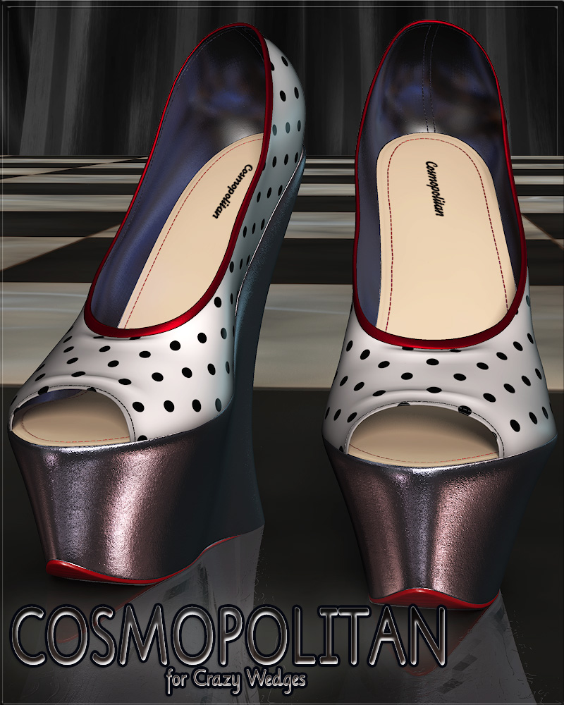 COSMOPOLITAN - Crazy Wedges by Anagord