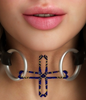 Collar - Kinky 4 3D Figure Essentials Tempesta3d