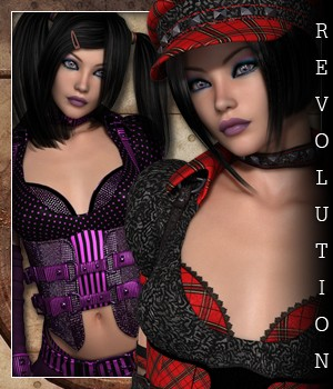 Revolution for Total Anarchy 3D Figure Essentials sandra_bonello