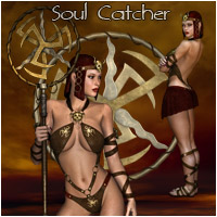 Soul Catcher - Extended License 3D Figure Assets Rhiannon