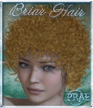 Prae-Briar Hair 3D Figure Essentials prae