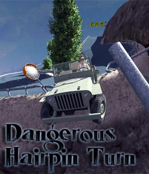 Dangerous Hairpin Turn 3D Models yblues