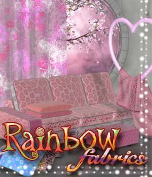 ALXN Rainbow Fabrics 2D Graphics Merchant Resources alexaana