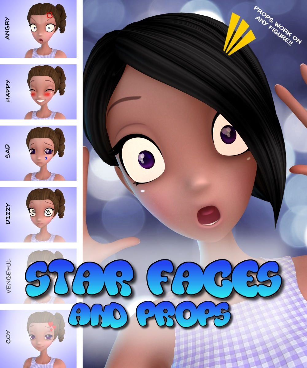 Star Faces and Props