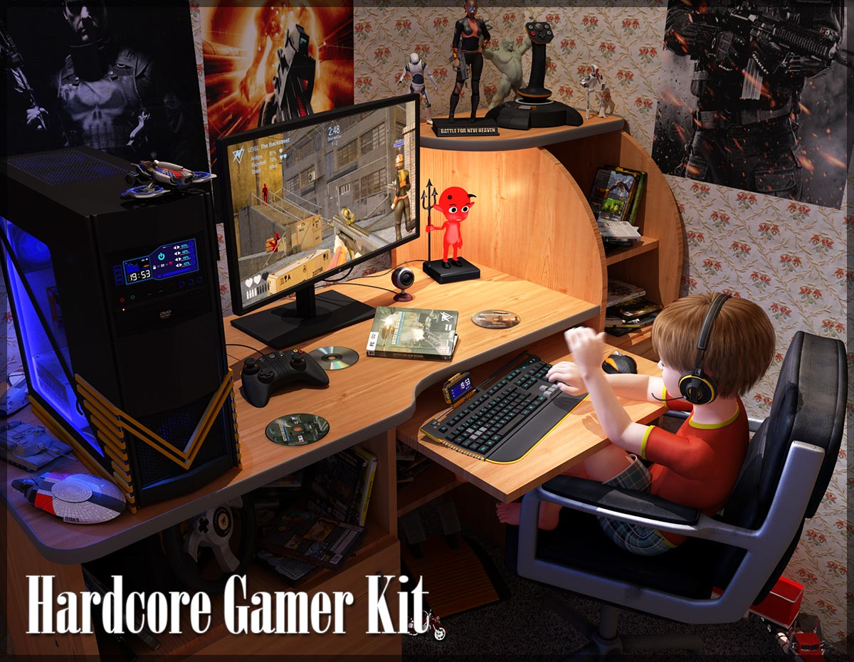 Hardcore Gamer Kit