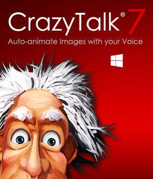 CrazyTalk 7 PRO Software Reallusion