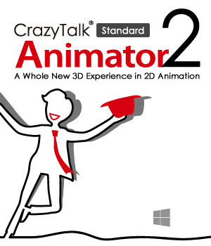 CrazyTalk Animator 2 Standard Software Reallusion