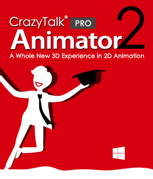 CrazyTalk Animator 2 PRO Software Reallusion
